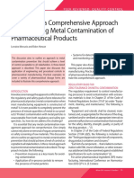 Preventing Metal Contamination