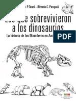 Los Que Sobrevivieron a Los Dinosaurios (1)