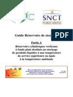 DT 108 Partie a Guides Réservoirs de Stockage Atmosphériques