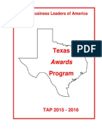 _ Future Business Leaders of America_FBLA_Texas Branch_2015-16-TAP