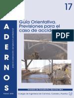 C17. Guía Orientativa. Previsiones para el Caso de Accidente