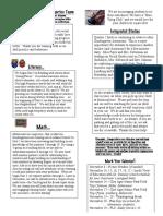 november unit 3 newsletter