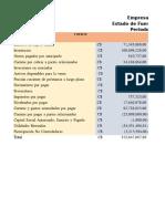 Estado de Usos y Fondos 2008 - 2009