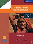 Inclusive Finance India Report 2015