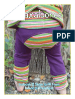Maxaloones toddler pants monkey pants