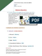 Sistema Operativo 5 Ejemplos