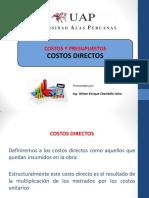 Clase 3 - Costos Directos