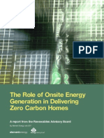 RAB On Site Energy Generation for ZCH_Summary