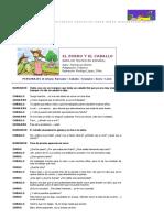 Ell Zorro y El Caballo, Hermanos Grimm, Obras de Teatro Para Niños, Guiones Teatrales Para Chicos, Cuentos en Audio Para Niños, Cuentos Para Chicos, Audio Cuentos, Diccionario Ilustrado Para Niños en Ingles