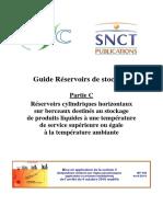 DT 110 Partie C Guides Réservoirs de Stockage Atmosphériques