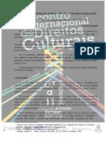 Derechos Culturales. Ensayo de Una Conceptualización