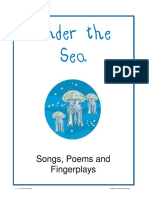 Under the Sea - Songs Poems and Fingerplays