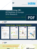 Fosway Group TransformingHR HR Realities