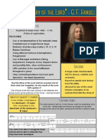 handel fact sheet