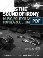 This is the Sound of Irony_ Music, Politics and Popular Culture-Ashgate Pub Co (2015)