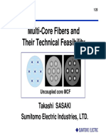 PRESENTATION_OFC_2011_SASAKI_Multi Core Fibers and Their Technical Feasibility
