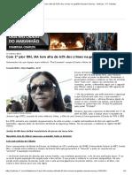 Com 2º Pior IDH, MA Tem Alta de 62% Dos Crimes Na Gestão Roseana Sarney - Notícias - R7 Cidades