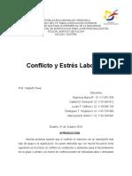 conflicto y estrés laboral