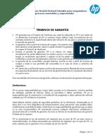 Manual Entrega Servicios y Garantia Equipos Comerciales HP PPS Rev 03061...