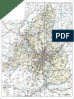 Mapa Carreteras comunidad de madrid