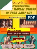 STRESS MANAGEMENT - Combat Aging Process