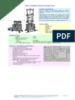 Tm113 Universal Testing Machine, 30 Kn