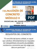 Modulo II Tecnología Del Concreto