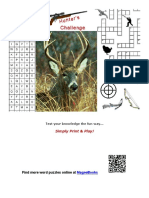 Hunters Challenge Word Games