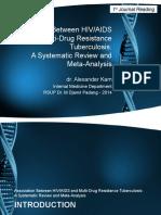 Jurnal 1 - Hubungan Antara HIVAIDS Dengan MDR TB