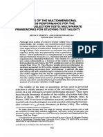 Personnel Psychology Volume 50 Issue 4 1997 [Doi 10.1111%2fj.1744-6570.1997.Tb01484.x] Kevin r. Murphy; Ann Harris Shiarella -- Implications of the Multidimensional Nature of Job Performance for the V