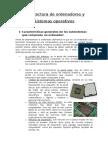 Arquitectura de Ordenadores y Sistemas Operativos