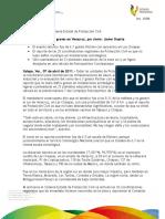 07 04 2011 - El gobernador, Javier Duarte de Ochoa informa a la población sobre situación actual del estado tras sismo de 6,7 grados Ritcher