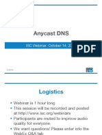 DNS Anycast at ISC October 2015