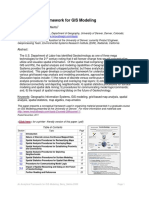Gis Modeling Framework