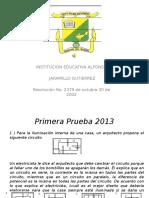 1º Prueba Icfes 2013