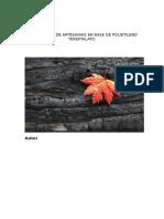 Elaboracion de Artesanias en Base de Polietileno Tereftalato
