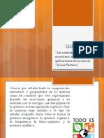 QUIMICA - GENERALIDADES