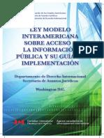 Acceso Ley Modelo Libro Espanol