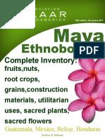1 Ethnobotany Maya Plant List Annual Report 2011 Catalog 5th Edition Nov 2011