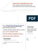100 TOP COMPUTER NETWORKS Multiple Choice Questions and Answers COMPUTER NETWORKS Questions and Answers.pdf