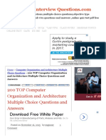 200 TOP Computer Organization and Architecture Multiple Choice Questions and Answers Computer Organization and Architecture Multiple Choice Questions.pdf