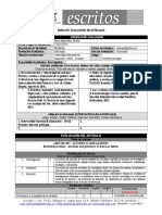 Formato Evaluac Escritos - Texto Sobre Jean-Luc Marion