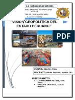 Vision Geopolitica Del Estado Peruano