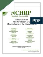NCHRP 572 Appendix
