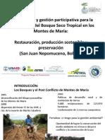 Conectividad Bosque Seco Montes de María