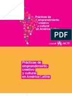 CSCL Practicas de Emprendimiento Creativo y Cultural en America Latina 2015