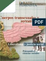 Cuerpos Transexuales y Transgéneros. Debate Feminista No. 39 Abril 2009. Rosa Linda Fregoso