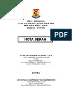 NOTA SERAH TUGAS