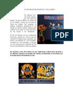 Diferencia Entre Dia de Muertos y Halloween