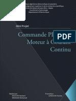 Commande PID d'un moteur à courant continu